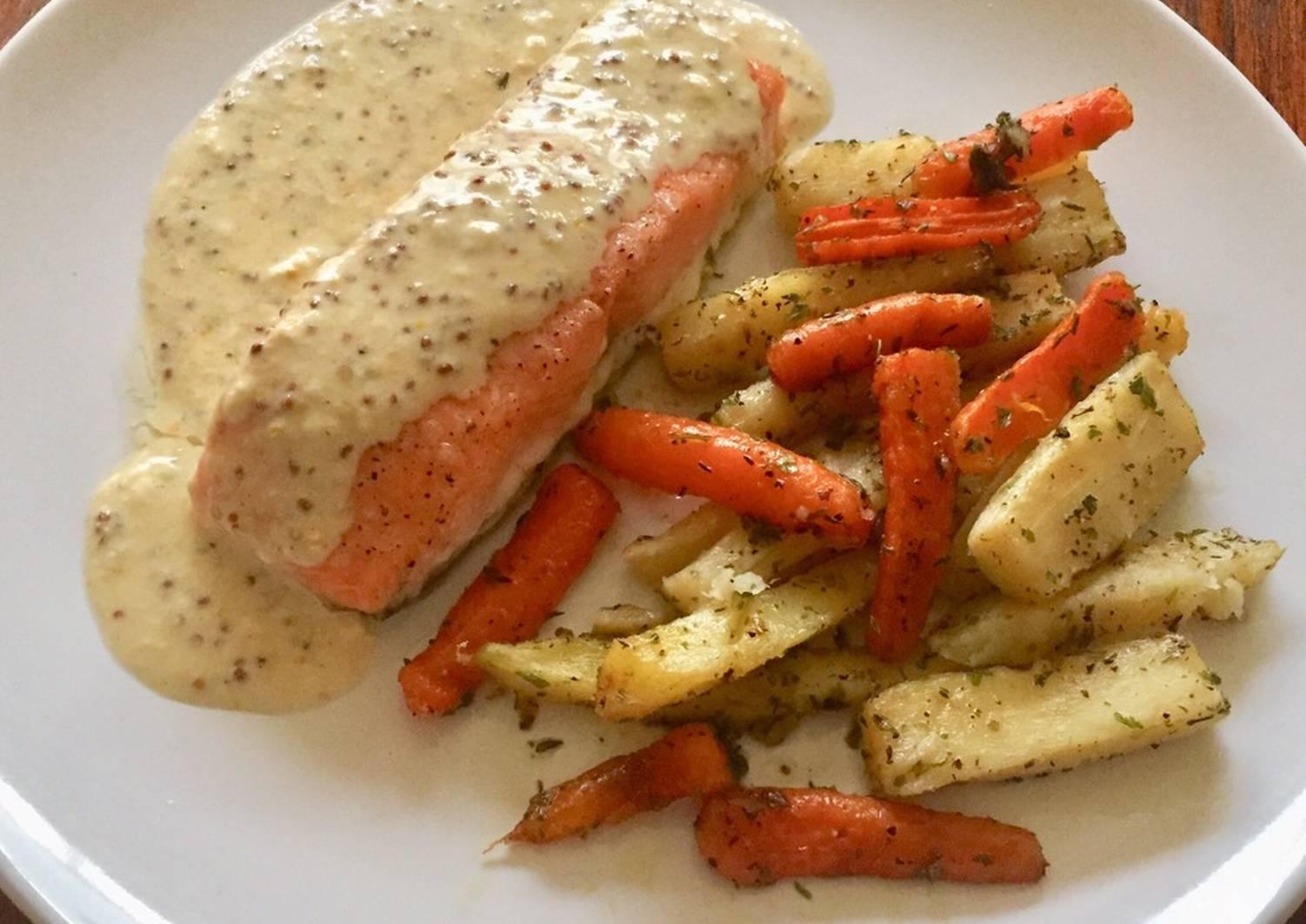 чипсы из пастернака и моркови