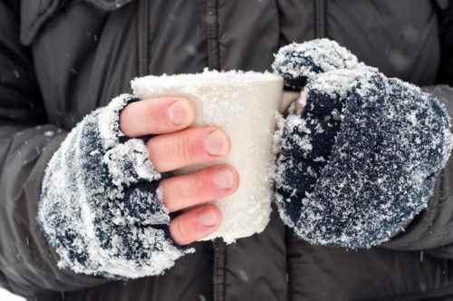 обморожение, симптомы обморожения, стадии обморожения