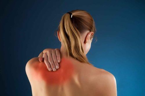 Боль при массаже