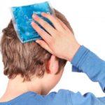 Ушибы головы и сотрясение мозга