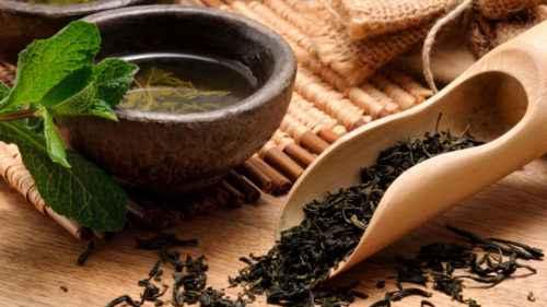 Зеленый чай с имбирем и лимоном для похудения 11