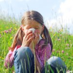 Аллергический насморк и крапивница у ребенка