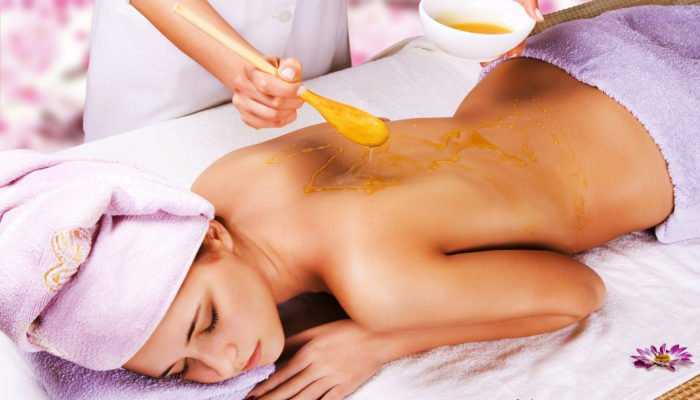 Медовый массаж антицеллюлитный