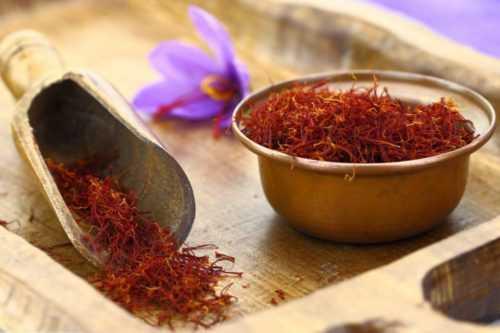 Специя шафран: польза и вред для здоровья. Родина шафрана и применение