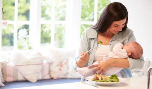 Диета при кормлении ребенка, лактация