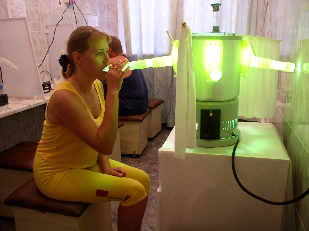 ультрафиолетовое облучение носа