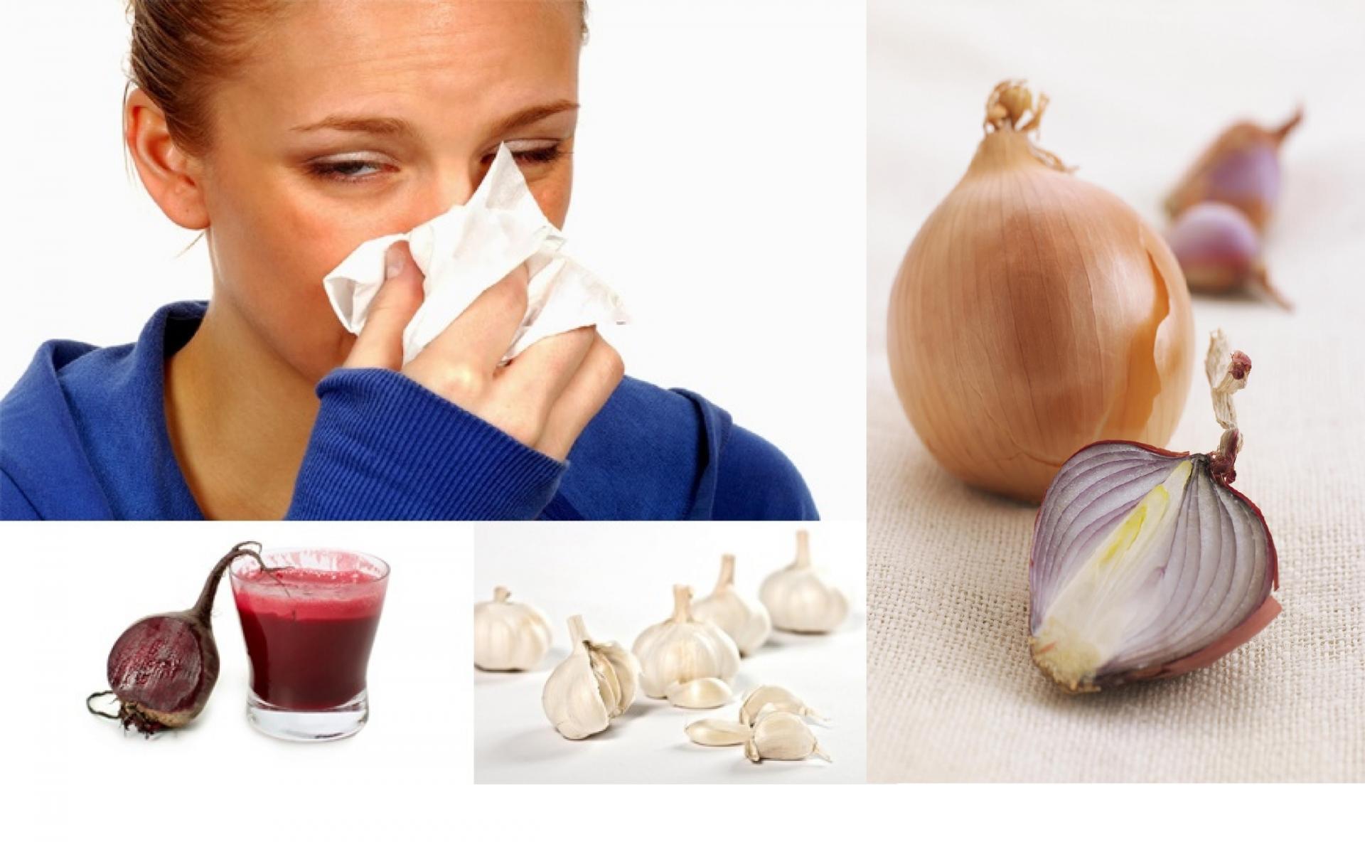 аллергический насморк народные средства