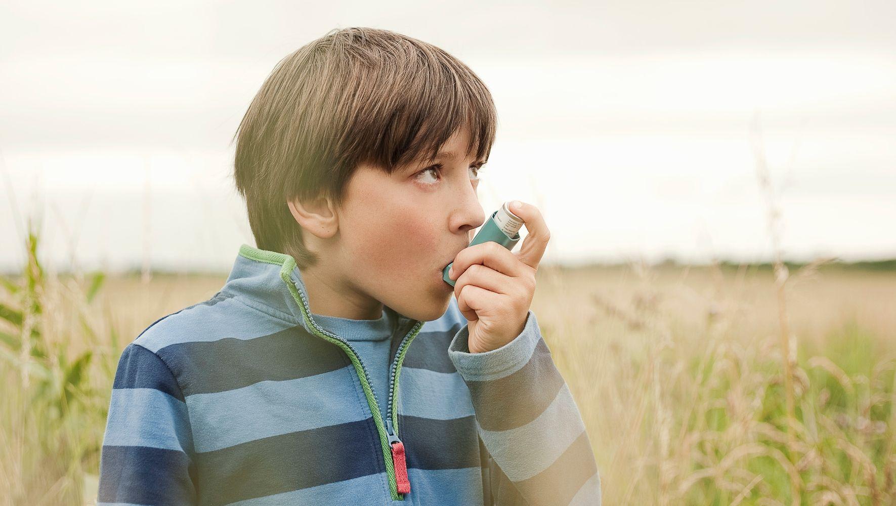 сухой кашель при астме