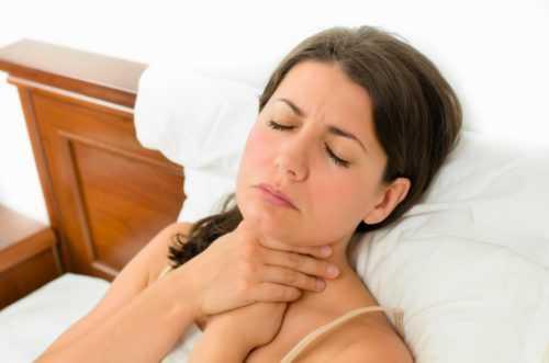 опухшее горло, больно глотать, воспаление