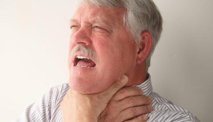 опухло горло аллергия