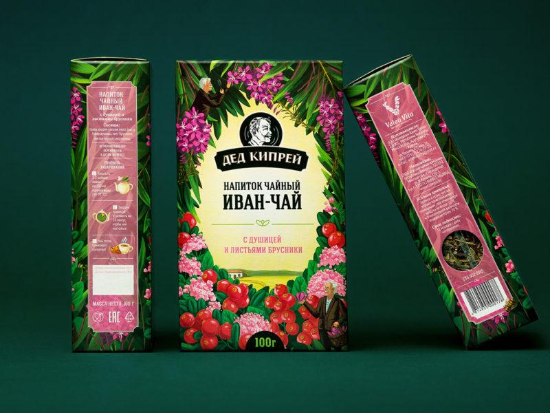 Иван-чай в упаковке