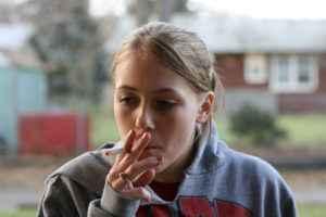 морщины курение